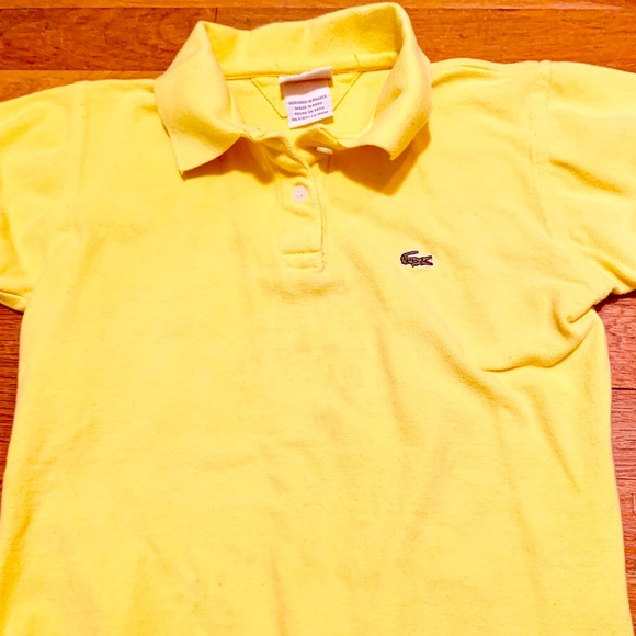 06c5b0c7c Lacoste Other - Boys Lacoste Polo 💛